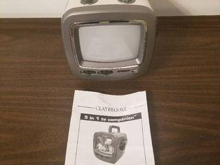 Claybrooke 5 in 1 TV Companion