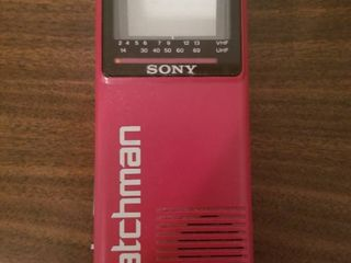 Red Sony Watchman  1986