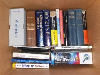 Box O Books Bibles Dictionaries Chicken Soup