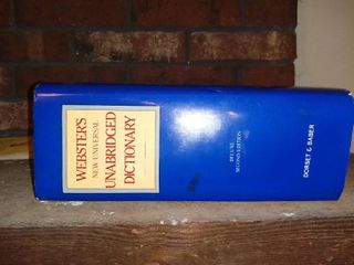 1983 Websters New Universal Unabridged Dictionary