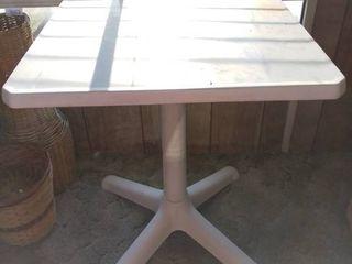Heavy Plastic Outdoor Table