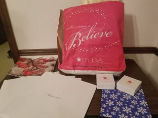 lot of Wrapping Boxes and Bags for Christmas