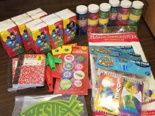 lot of Assorted Stocking Stuffers Children s Party Supplies
