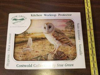 Owl Kitchen Worktop Protector