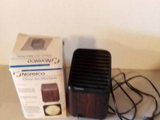 Norelco Clean Air Machine Air Cleanser Not Tested