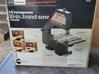 Sears Craftsman 10  Bandsaw in Original Box