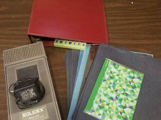 Assorted Office Supplies  Solidex VHS Rewinder