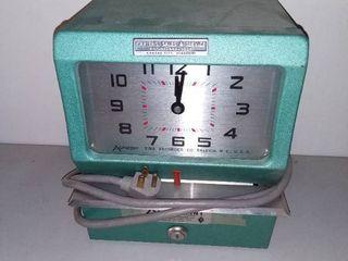 Carter s Sales and Services Kansas City Missouri Vintage Punch Clock