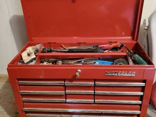 Waterloo 12 Drawer Tool Chest with Misc Tools Included