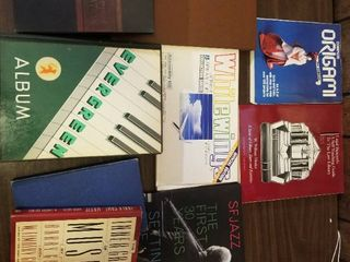 White Wings Paper Plane Kit  lot of Assorted Books