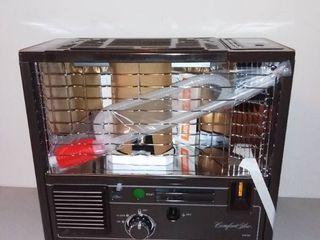 Comfort Glow Portable Reflection Kerosene Heater with Fan Model GRF98 9300 BTV