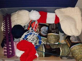 Mega lot of Yarn and Crochet Hooks