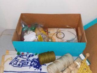 Mega lot of latch Hook Crafting Supplies