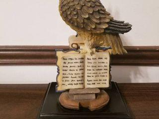 Fine art Collection  Owl Statue