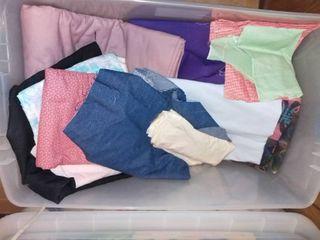 Mega lot of Various Fabrics