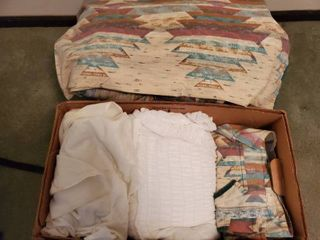 Queen Size Bedding Set  with Native Theme  FRESHlY Washed