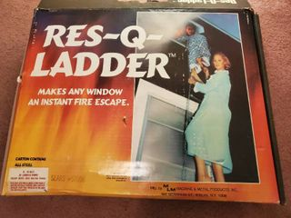 Res Q ladder  Makes any Window and Instant Fire Escape
