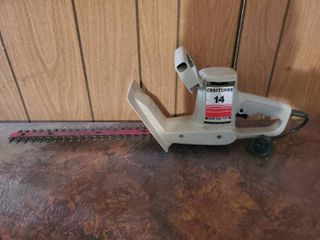 Sears Craftsman Bushwacker  14 Inch Blade  Electric  Tested and Working