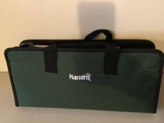 Harrahas Barbecue Utensils with Case location Storage Room