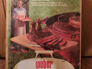 Weber Sidekick  Cutting  Carving and Servong Board