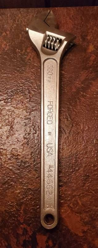 Forged    380 MM Wrench