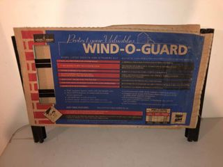 Protect Your Valuables Metal Wind o Guard location Storage Room