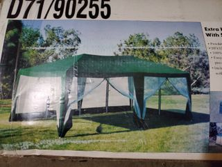 20x 12 Extra large Canopy with Screen Shade NIB