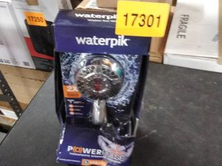 waterpik power pulse 6 sprays shower head