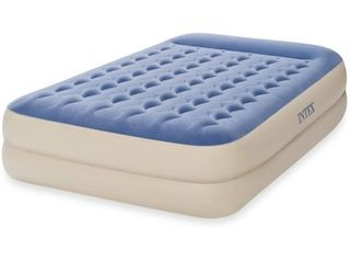 intex queen 18 inch raised pillow rest airbed