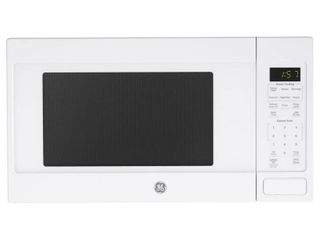 GE Appliances JES1657DMWW 1 6 cu  ft  Capacity Countertop Microwave White