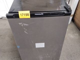 frigidaire refrigerator stainless steel and black
