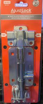box of Jones Stephens Jh06300 5  Extra Heavy Duty Zinc Plated Barrel Bolt 12 pc