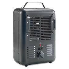 Omniheat 1299186 Milkhouse Utility Fan Heater 5 100 Btu Safety Shutoff 160sqft
