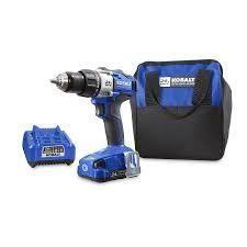 kobalt 24 max brushless drill used