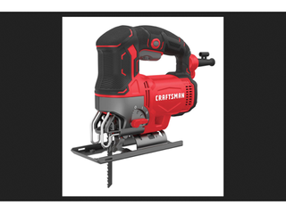 Craftsman 3 4 in  Corded Keyless Jig Saw 6 amps U Shank 12 369 in  l Red
