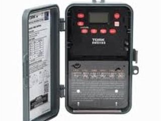 NSI Industries EWZ103 Multipurpose Control Astronomic 7 Day Time Switch  120 277 VAC Input Supply  1 Channel  DPST Output Dry Contact