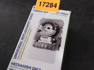 Tork Universal Mechanical Timer Mechanism Only 40 Amp 120 208 240 277 Vac