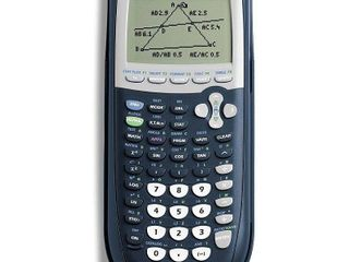 Texas Instruments   TI 84 Plus Graphing Calculator   Blue