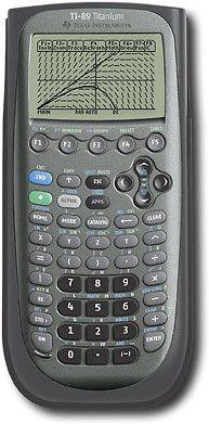 Texas Instruments   TI 89 Titanium Graphing Calculator  Pixel Display