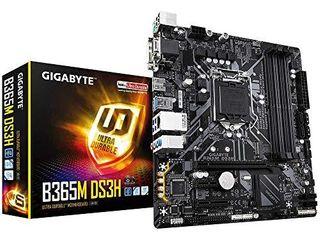 GIGABYTE B365M DS3H  lGA1151 Intel Micro ATX USB 3 1 Gen 1  USB3 0  Type A DDR4 Motherboard