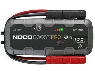 NOCO Boost Pro GB150 4000 Amp 12 Volt UltraSafe lithium Jump Starter For Up To 10 liter Gasoline And Diesel Engines