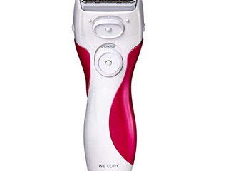 Panasonic Electric Shaver for Women  Cordless 3 Blade Razor  Pop Up Trimmer  Close Curves  Wet Dry Operation  Independent Floating Heads   ES2207P