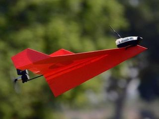 POWERUP 3 0 Smartphone Controlled Paper Airplane