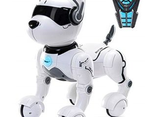 Remote Control Robot Dog Toy  Robots for kids  Rc Dog Robot Toys for Kids 2 3 4 5 6 7 8 9 10 year olds and up  smart   Dancing Robot Toy  Imitates Animals mini Pet Dog Robot