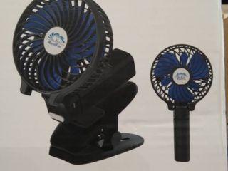 HandFan Powerful Rechargeable Fan