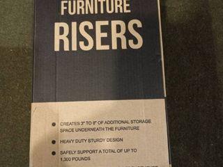 Adjustable Furniture Risers