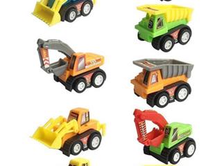 Truck Series Construction Vehicles  9pc