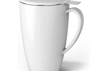 Sweese Porcelain 15oz Infuser Tea Mug