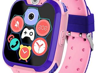 HuaWise Kids Smart Watch Pink Purple