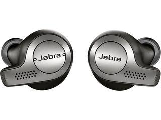 Jabra   Elite 65t True Wireless Earbud Headphones   Titanium Black